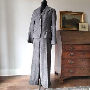 ANN TAYLOR tweed suit